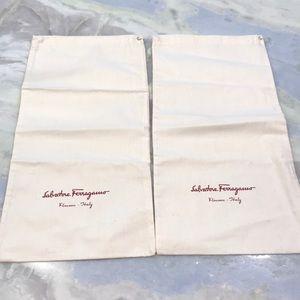 Salvatore Ferragamo Shoe Dust Bags